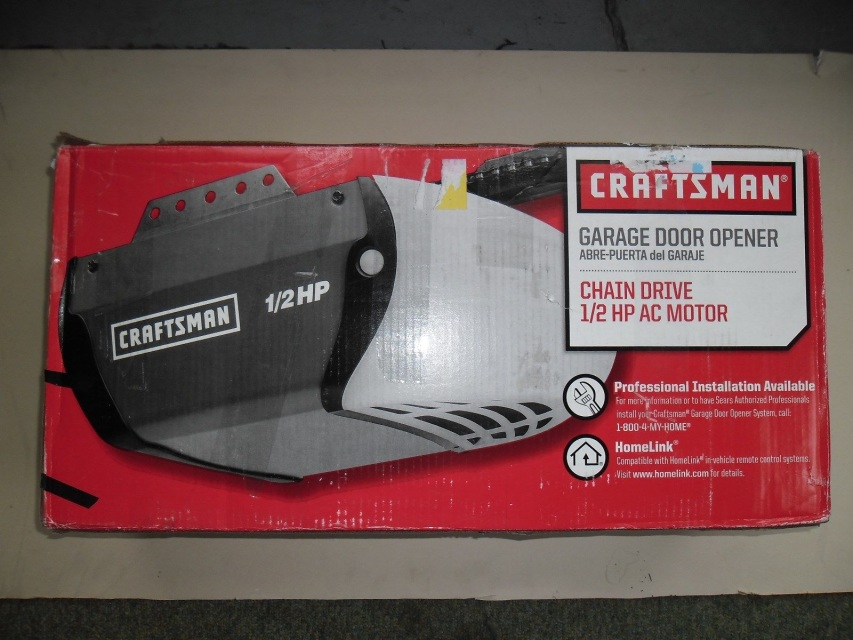 Garage door opener 1 2 hp 315 m hz craftsman 953930 53930 for 1 hp garage door opener